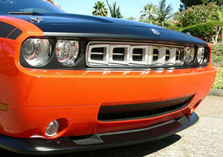 Custom Cuda Grille Insert Produced for Hulst Customs