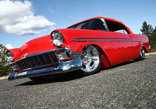 1956 Chevrolet - Hulst Customs - All Custom Lens Production
