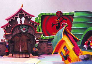 Warner Bros. - Toon Street Motion Control Set